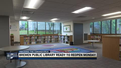Bremen Public Library to reopen with modified layout